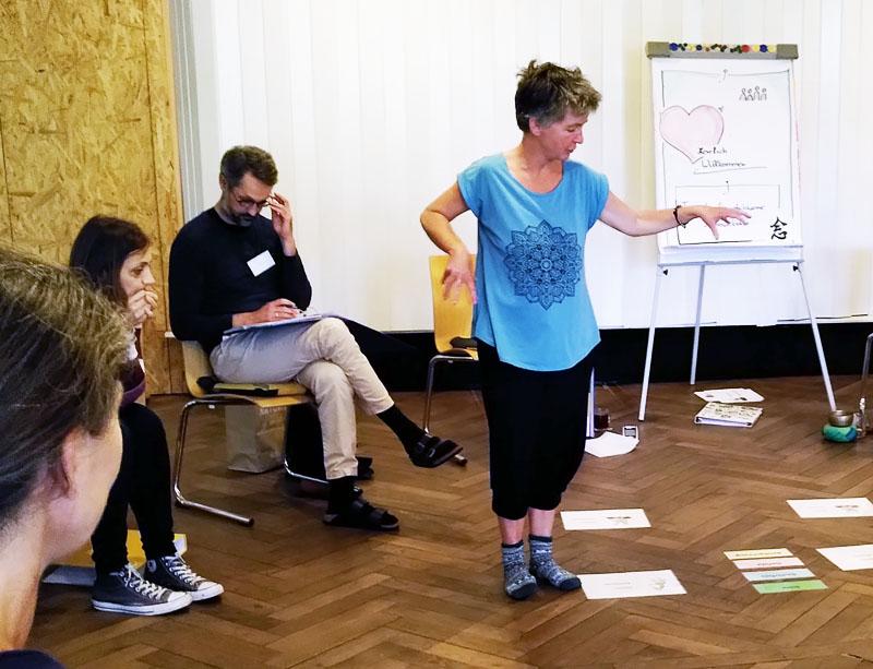 Seminar Gewaltfreie Kommunikation mit Dagmar Bellen